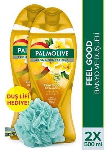 Palmolive Palmolive Aroma Sensations Feel Good ıpeksi 2'li Duş Jeli 500 ml ve Duş Lifi Hediye Renksiz